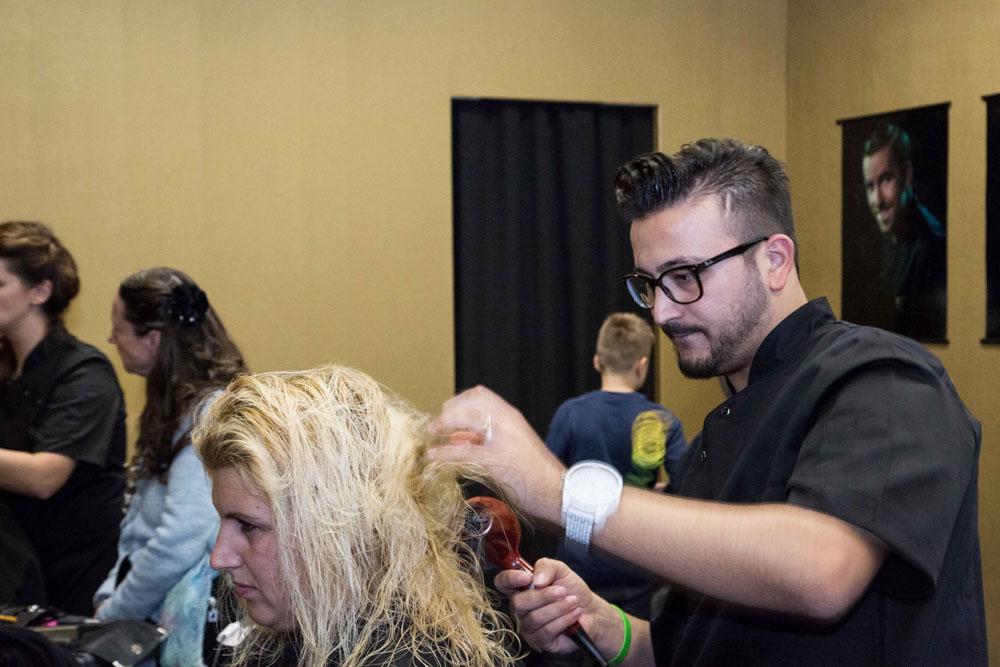 Friseursalon: Fönen