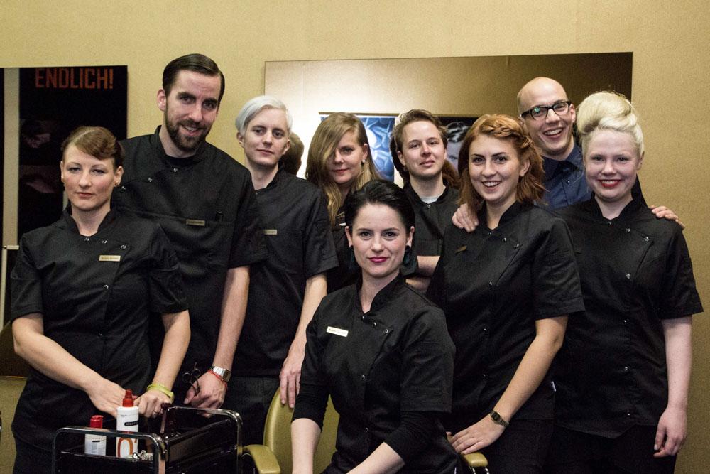 Friseursalon: Das Team