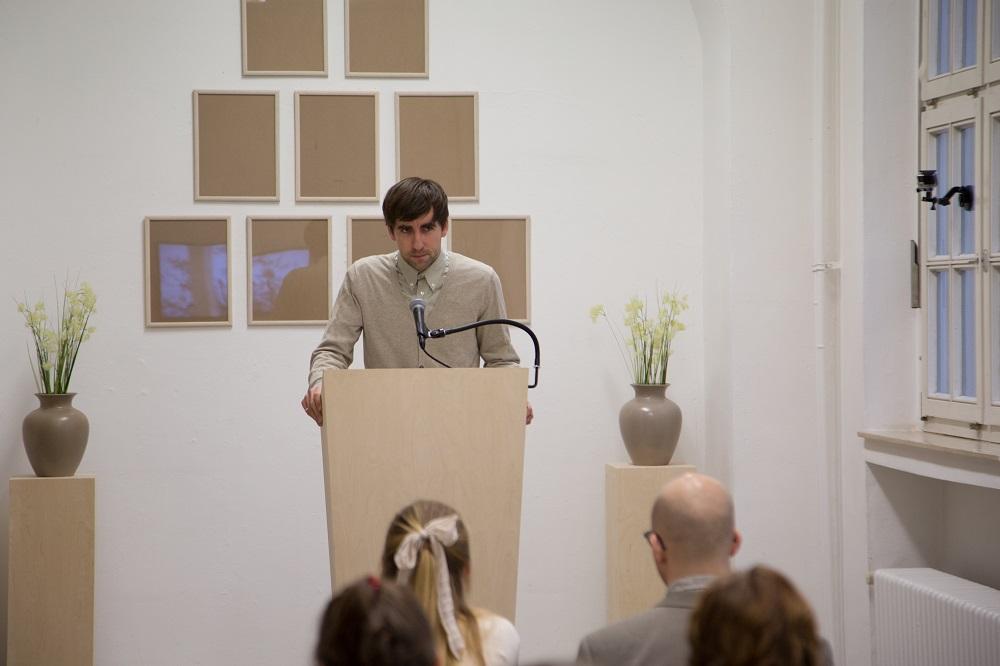 Wiedergabesalon: Stefan Gutsche am Rednerpult